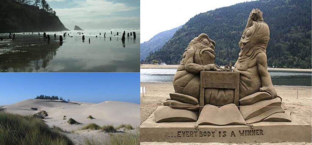 oregon coast sand ghost forests
